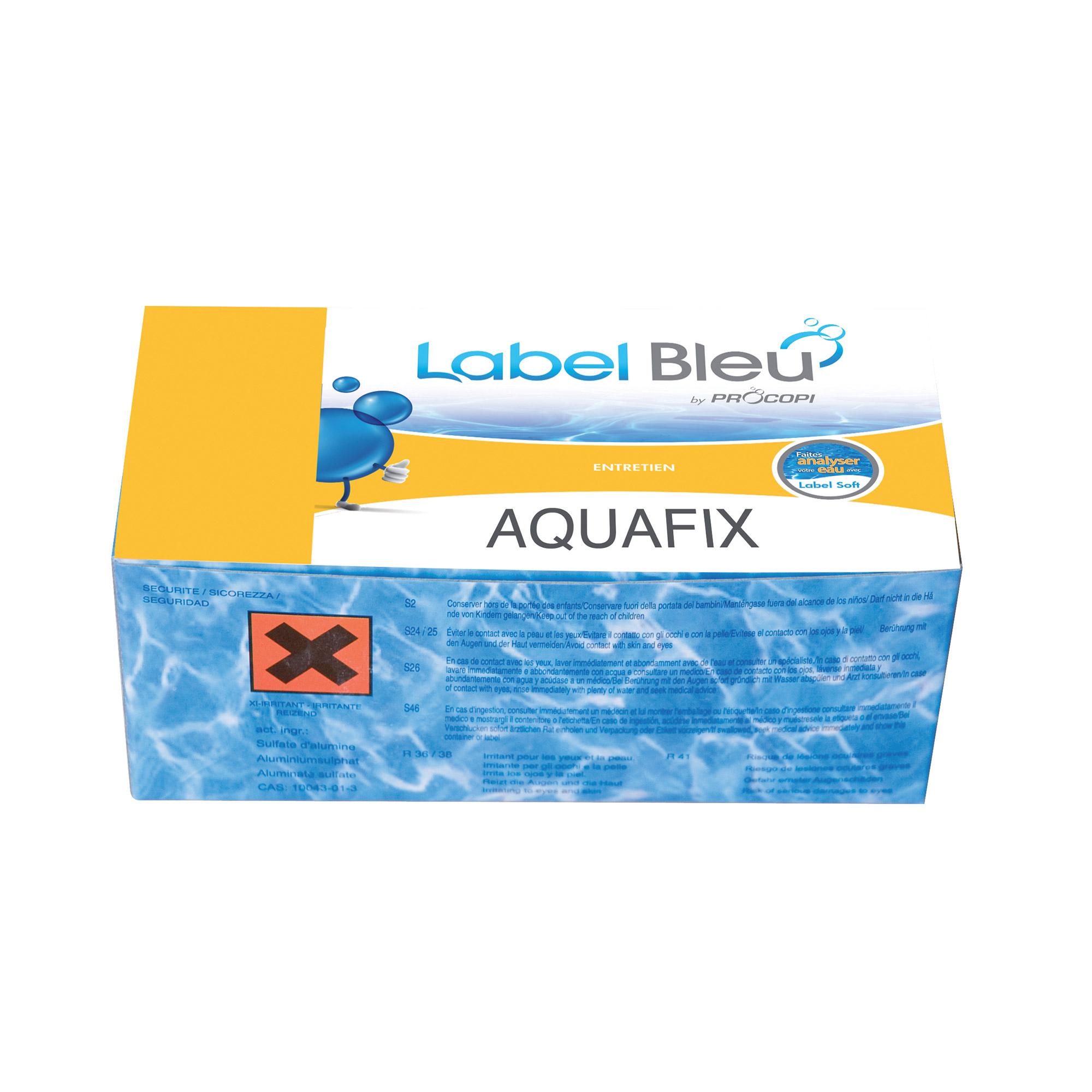 Aquafix floculant en chaussette qui am liore le - Chaussette filtre piscine ...