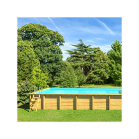 piscine bois weva rectangle 8x4