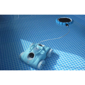 AMBIANCE POUR ROBOT ELECTRIQUE CLEAN AND GO + PANNEAU SOLAIRE PROSWELL