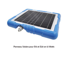 PANNEAU SOLAIRE 12 WATTS POUR ROBOT CLEAN AND GO PROSWELL