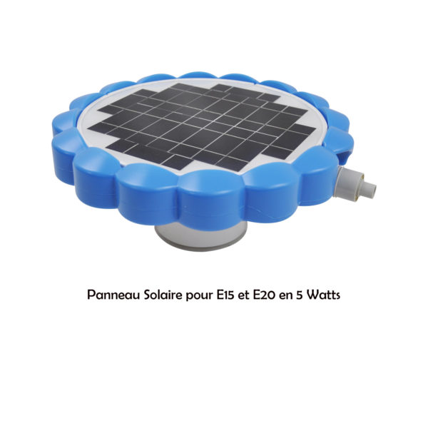 PANNEAU SOLAIRE 5 WATTS POUR ROBOT CLEAN AND GO PROSWELL