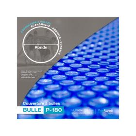 couverture à bulles pour piscines rondes